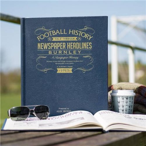Personalised Burnley Football Book